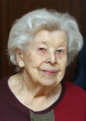 """Portrait von Maria """"Mizzi"""" Forster geb. Larcher"""