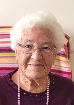 Portrait von Maria (Misi) Gunz geb. Sieberer