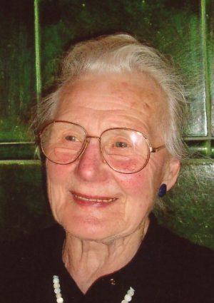 Portrait von Olga Wilhelmer geb. Malin