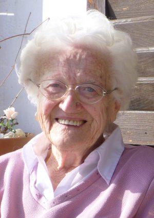 Portrait von Lore Büchel geb. Sartor